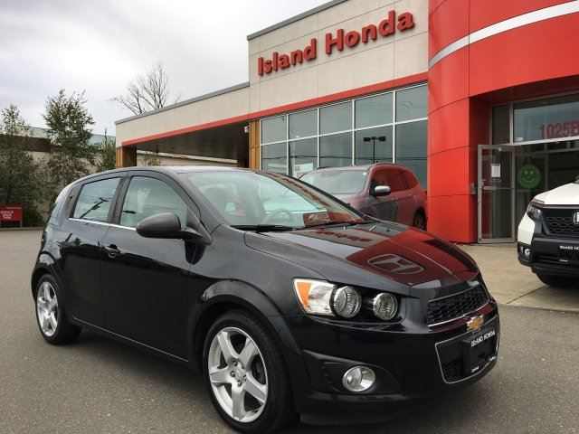 2015 CHEVROLET SONIC LT in Courtenay, British Columbia
