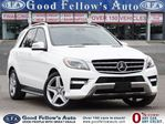 2015 Mercedes-Benz M-Class 4MATIC, DIESEL, LEATHER SEATS, PANORAMIC ROOF, NAV in North York, Ontario