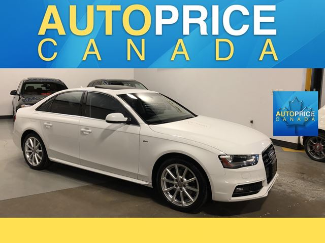 2015 Audi A4 2.0T Progressiv plus S-LINE|NAVIGATION AND MORE in Mississauga, Ontario