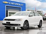 2013 Volkswagen Jetta 2.5L/LEATHER, POWER SUNROOF,ALLOY WHEELS in Georgetown, Ontario