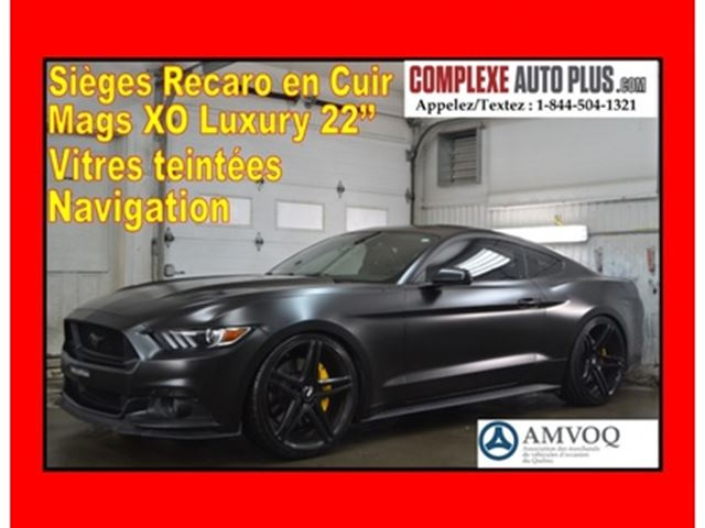 2015 FORD MUSTANG GT 5.0 V8 Premium *WOW LOOK UNIQUE! in Saint-Jerome, Quebec