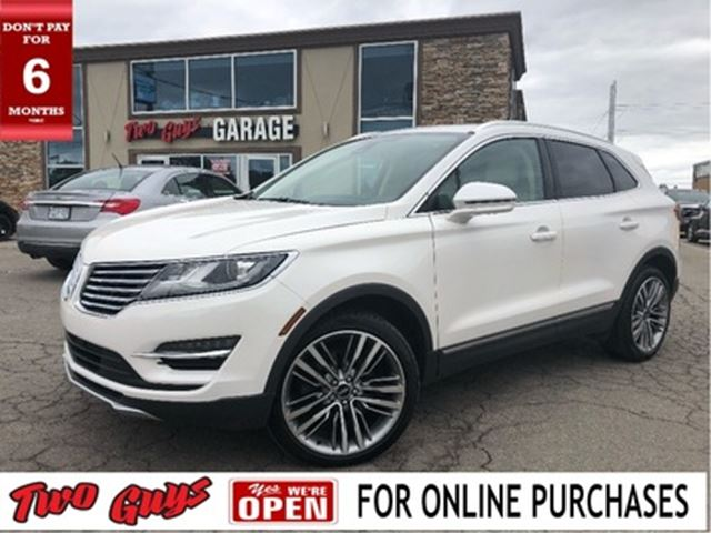 2016 LINCOLN MKC Reserve   Panoroof   Leather   Nav   AWD   B/Up Ca in St Catharines, Ontario