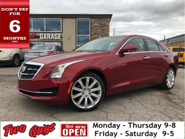 2015 CADILLAC ATS 2.0L Turbo Luxury   AWD   Leather   Nav   Sunroof in St Catharines, Ontario