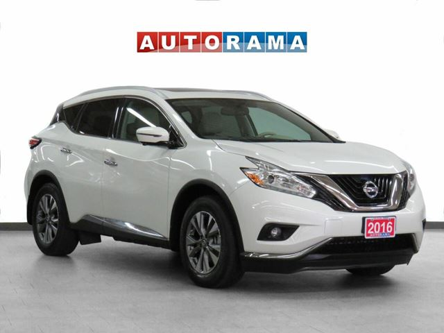 2016 Nissan Murano 4WD SL Navi Leather Pano-Sunroof Backup Cam in North York, Ontario