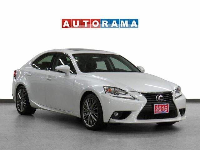 2016 Lexus IS 300 4WD Leather Sunroof Backup Cam in North York, Ontario