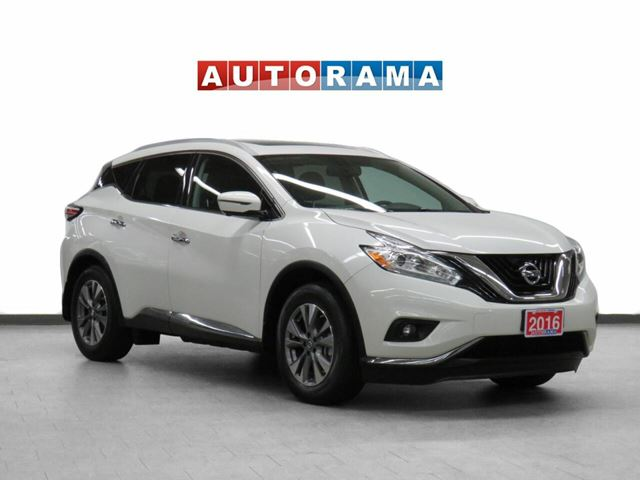 2016 Nissan Murano 4WD Navigation Leather Pano-Sunroof Backup Cam in North York, Ontario