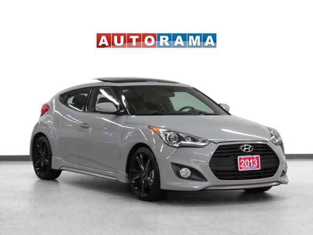 2013 Hyundai Veloster Navigation Leather Panoramic Sunroof Backup Cam in North York, Ontario