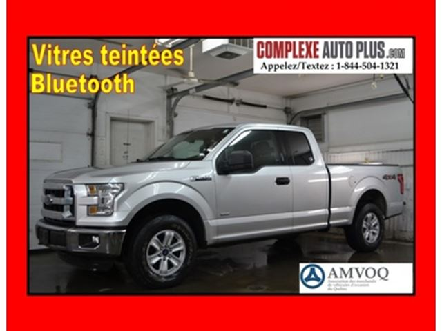 2015 FORD F-150 XLT 4x4 Ecoboost SuperCab *Mags, Fogs, Bluetooth in Saint-Jerome, Quebec