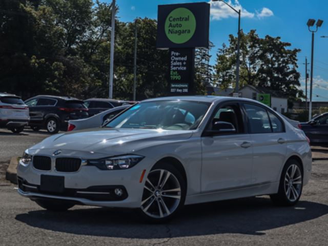 2016 BMW 3 SERIES SPORTLINE PKG SUNROOF XDRIVE AWD PARK DISTANCE in Fonthill, Ontario