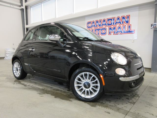 2013 Fiat 500 LOUNGE CONVERTIBLE, LEATHER, BT, 69K! in