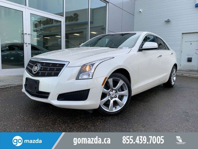 2014 CADILLAC ATS LUXURY AWD LEATHER DUAL CLIMATE REAL NICE in Edmonton, Alberta