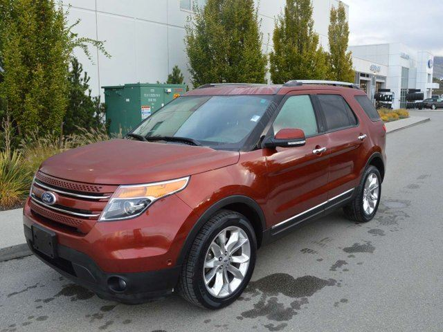 2014 FORD EXPLORER Limited in Kamloops, British Columbia