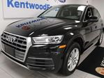 2018 Audi Q5 Komfort AWD TFSI Quattro with NAV, heated power leather seats, power liftgate, back up cam in Edmonton, Alberta