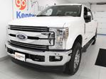 2019 Ford F-350  Lariat FX4 off road 6.7L Power Stroke Turbo Diesel with NAV, sunroo, heated/cooled power leather seats, heated rear seats, back up cam and keyless entry in Edmonton, Alberta