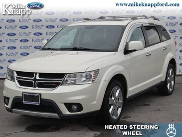 dodge journey hp  rt leather seats bluetooth welland wheelsca