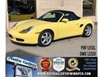 1999 Porsche Boxster *MB ONLY Vehicle/RWD/Lthr/Convertible/Low KMs! in Winnipeg, Manitoba