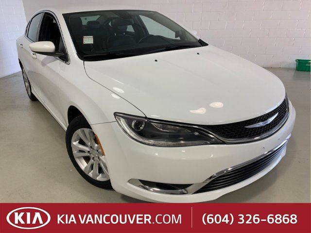 2015 CHRYSLER 200 Limited in Vancouver, British Columbia