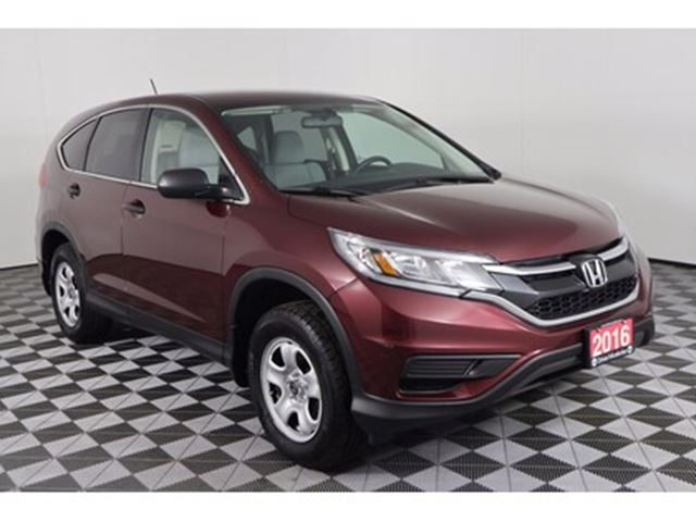 2016 Honda CR-V lx, 2.4L , 4CYL, AWD, AUTO, BACK-UP CAM in