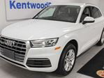 2018 Audi Q5 Komfort AWD TFSI Quattro with heated power leather seats, back up cam in Edmonton, Alberta