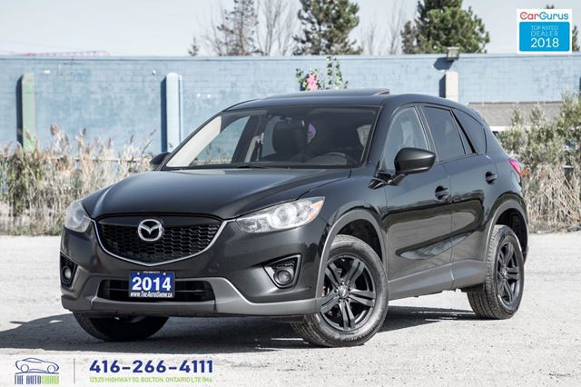 2014 Mazda CX-5 AWD*Sunroof*RCam Clean Carfax Certified Financing in Toronto, Ontario