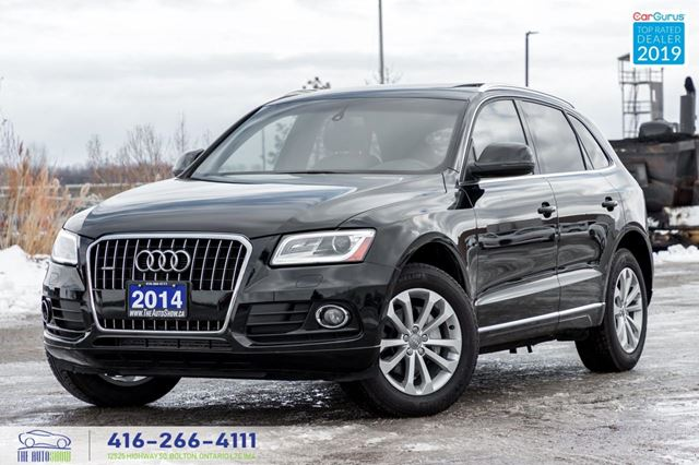 2014 Audi Q5 2.0L Progressiv Navi PanoRoof Certified We Finance in Toronto, Ontario