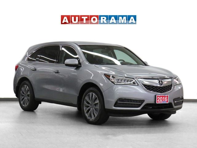 2016 Acura MDX 4WD Tech Pkg Nav Leather Sunroof Backup Cam 7Pass in North York, Ontario