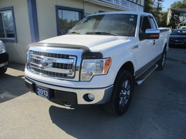 2013 Ford F-150 GREAT KMS XLT EDITION 6 PASSENGER 3.7L - V6.. 4 in