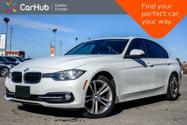 2016 BMW 3 Series 320i xDrive Navi Sunroof Backup Cam Bluetooth Heated Front Seats Poush Start 17Alloy Rims in