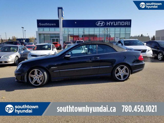 2007 MERCEDES-BENZ CLK-Class 6.2L AMG/NAVI/BLUETOOTH/HEATED SEATS in Edmonton, Alberta