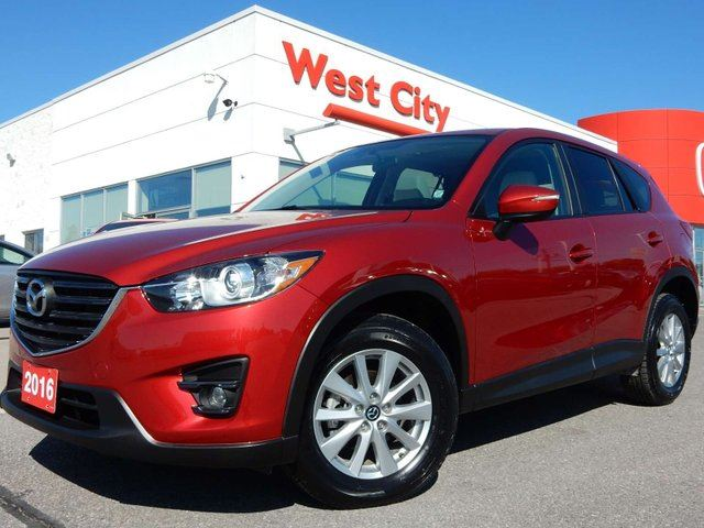 2016 Mazda CX-5 GS w/Navigation and Leather in