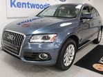 2016 Audi Q5 3.0T Progressiv TFSI Quattro AWD with NAV, sunroof, heated power leather seats, power liftgate in Edmonton, Alberta