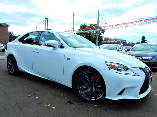 2016 LEXUS IS 200T F-Sport.Red Leather.Paddle Shift.One Owner in Kitchener, Ontario