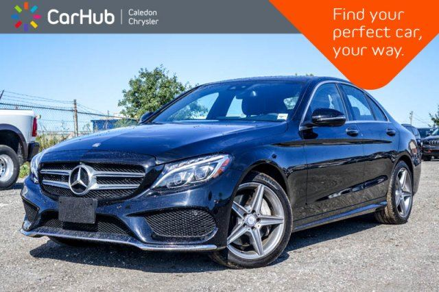 2017 MERCEDES-BENZ C-CLASS C 300 4Matic Navi Pano Sunroof Bluetooth Blind Spot Keyless Heated Front Seats 17Alloy Rims in Bolton, Ontario