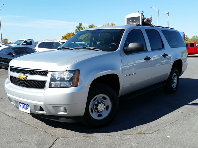 2013 Chevrolet Suburban Commercial in