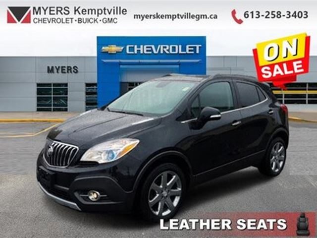 2016 Buick Encore Leather - Leather Seat -  Heated Seat in