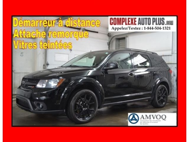 2014 Dodge Journey SXT V6 BLACKTOP *Super look! Mags 19p,Bluetooth in
