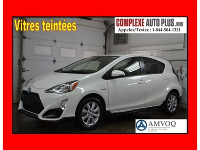 2017 TOYOTA Prius Hayon *Mags,Caméra recul,Fogs,Bluetooth in Saint-Jerome, Quebec