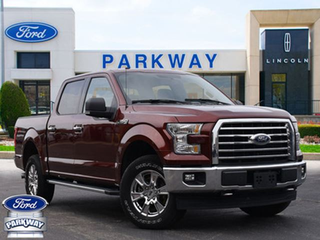 2017 FORD F-150 XLT CREW  XTR  5.0L  TOW PACKAGE  REAR CAMERA in Waterloo, Ontario