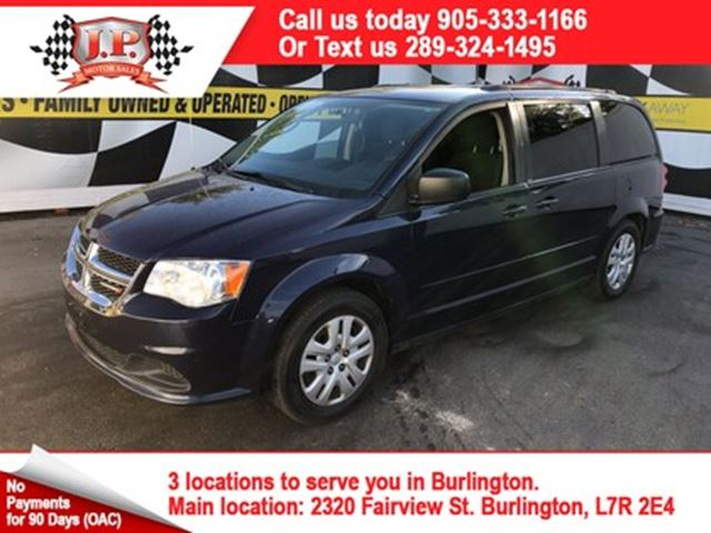 2014 Dodge Grand Caravan SXT, Automatic, Stow N Go Seating, 132,000km in
