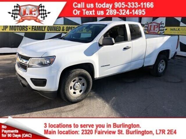 2016 Chevrolet Colorado Automatic, Quad Cab, Back Up Camera, in