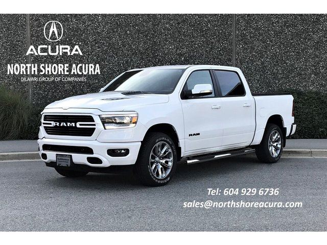 2019 DODGE RAM 1500 Sport/Rebel SWB Like NEW, Low Kms, w/Bed Cover in North Vancouver, British Columbia