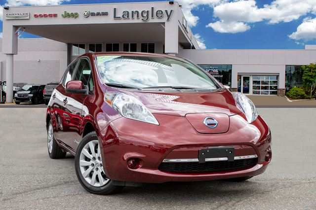 2016 NISSAN LEAF S  ALL ELECTRIC in Surrey, British Columbia
