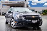 2014 Chevrolet Cruze DIESEL  1,120km PER TANK, DIESEL, NAVIGATION, BACK-UP CAMERA, LEATHER INTERIOR AND NO ACCIDENTS! in Surrey, British Columbia