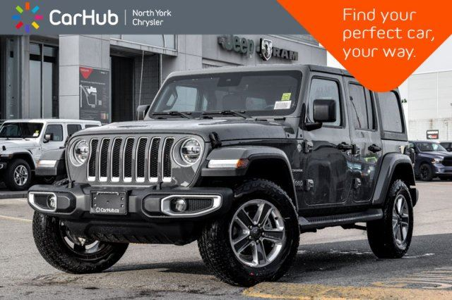2020 JEEP Wrangler Unlimited Sahara in Thornhill, Ontario