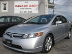 2008 Honda Civic EX-L, LEATHER, SUNROOF, 177K, 12 M WRTY+SAFETY in Ottawa, Ontario