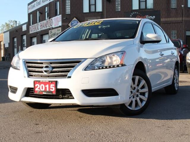 2015 Nissan Sentra 1.8 S Bluetooth-Auto in