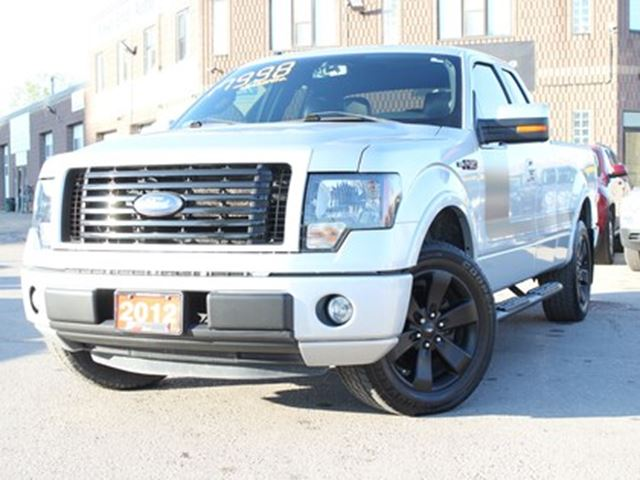 2012 Ford F-150 FX2 Sport 5.0L SuperCab 2WD Leather-Bluetooth in