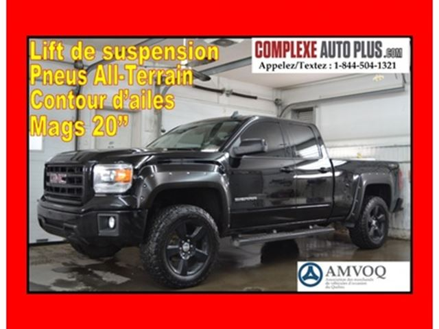 2015 GMC Sierra 1500 Elevation Double Cab 4x4 5.3L V8 *WOW SUPERBE LOOK in
