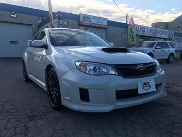 2013 Subaru Impreza 4dr Sdn STI_ONE OWNER_ACCIDENT FREE_LOW KMs in
