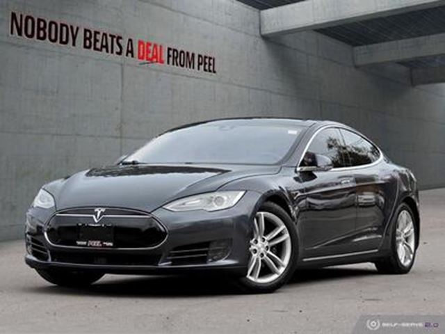 2015 TESLA MODEL S 70D, Autopilot, Roof, SUMMON, SubZero, EV in Mississauga, Ontario